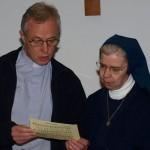 Padre Tomaz e Soster Kathleen